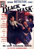 Black Mask (1920-1951 Pro-Distributors/Popular) Black Mask Detective Pulp Oct 1935