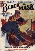 Black Mask (1920-1951 Pro-Distributors/Popular) Black Mask Detective Pulp Jan 1936