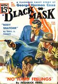 Black Mask (1920-1951 Pro-Distributors/Popular) Black Mask Detective Pulp Feb 1936