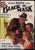 Black Mask (1920-1951 Pro-Distributors/Popular) Black Mask Detective Pulp Mar 1936