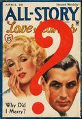 All-Story Love (1929-1955 Popular Publication) Pulp Vol. 45 #2