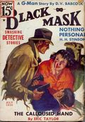 Black Mask (1920-1951 Pro-Distributors/Popular) Black Mask Detective Pulp Jul 1936