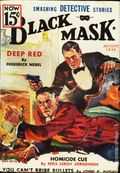 Black Mask (1920-1951 Pro-Distributors/Popular) Black Mask Detective Pulp Aug 1936