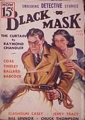 Black Mask (1920-1951 Pro-Distributors/Popular) Black Mask Detective Pulp Sep 1936