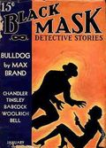 Black Mask (1920-1951 Pro-Distributors/Popular) Black Mask Detective Pulp Jan 1937