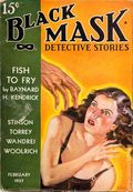 Black Mask (1920-1951 Pro-Distributors/Popular) Black Mask Detective Pulp Feb 1937