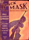 Black Mask (1920-1951 Pro-Distributors/Popular) Black Mask Detective Pulp Mar 1937