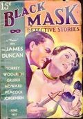 Black Mask (1920-1951 Pro-Distributors/Popular) Black Mask Detective Pulp Jun 1937