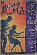 Black Mask (1920-1951 Pro-Distributors/Popular) Black Mask Detective Pulp Sep 1937