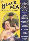 Black Mask (1920-1951 Pro-Distributors/Popular) Black Mask Detective Pulp Nov 1937