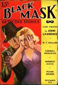 Black Mask (1920-1951 Pro-Distributors/Popular) Black Mask Detective Pulp Dec 1937