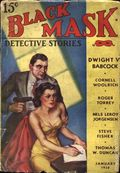 Black Mask (1920-1951 Pro-Distributors/Popular) Black Mask Detective Pulp Jan 1938