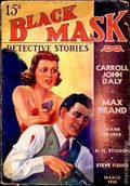 Black Mask (1920-1951 Pro-Distributors/Popular) Black Mask Detective Pulp Mar 1938