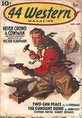 44 Western Magazine (1937-1954 Popular Publications) Pulp Vol. 2 #3