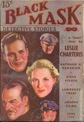 Black Mask (1920-1951 Pro-Distributors/Popular) Black Mask Detective Pulp Jun 1938
