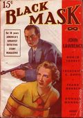 Black Mask (1920-1951 Pro-Distributors/Popular) Black Mask Detective Pulp Aug 1938