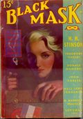 Black Mask (1920-1951 Pro-Distributors/Popular) Black Mask Detective Pulp Sep 1938
