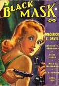 Black Mask (1920-1951 Pro-Distributors/Popular) Black Mask Detective Pulp Apr 1939