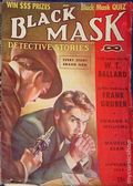 Black Mask (1920-1951 Pro-Distributors/Popular) Black Mask Detective Pulp Nov 1939