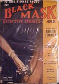 Black Mask (1920-1951 Pro-Distributors/Popular) Black Mask Detective Pulp Jan 1940