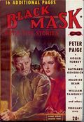Black Mask (1920-1951 Pro-Distributors/Popular) Black Mask Detective Pulp Feb 1940