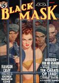 Black Mask (1920-1951 Pro-Distributors/Popular) Black Mask Detective Pulp Aug 1940
