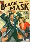 Black Mask (1920-1951 Pro-Distributors/Popular) Black Mask Detective Pulp Oct 1940