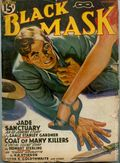 Black Mask (1920-1951 Pro-Distributors/Popular) Black Mask Detective Pulp Dec 1940
