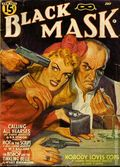 Black Mask (1920-1951 Pro-Distributors/Popular) Black Mask Detective Pulp Vol. 24 #3