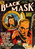 Black Mask (1920-1951 Pro-Distributors/Popular) Black Mask Detective Pulp Aug 1941