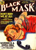 Black Mask (1920-1951 Pro-Distributors/Popular) Black Mask Detective Pulp Nov 1941