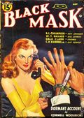 Black Mask (1920-1951 Pro-Distributors/Popular) Black Mask Detective Pulp Vol. 25 #1