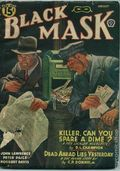 Black Mask (1920-1951 Pro-Distributors/Popular) Black Mask Detective Pulp Aug 1942