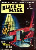Black Mask (1920-1951 Pro-Distributors/Popular) Black Mask Detective Pulp May 1947