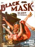 Black Mask (1920-1951 Pro-Distributors/Popular) Black Mask Detective Pulp Jan 1950