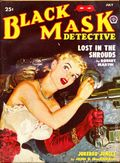 Black Mask (1920-1951 Pro-Distributors/Popular) Black Mask Detective Pulp Jul 1950