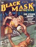 Black Mask (1920-1951 Pro-Distributors/Popular) Black Mask Detective Pulp Nov 1950