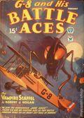 G-8 and His Battle Aces (1933-1944 Popular Publications) Pulp Vol. 2 #1