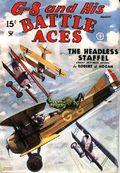 G-8 and His Battle Aces (1933-1944 Popular Publications) Pulp Vol. 6 #3