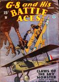 G-8 and His Battle Aces (1933-1944 Popular Publications) Pulp Vol. 7 #1