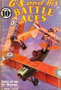 G-8 and His Battle Aces (1933-1944 Popular Publications) Pulp Vol. 9 #2