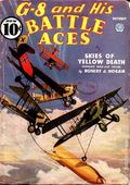 G-8 and His Battle Aces (1933-1944 Popular Publications) Pulp Vol. 10 #1