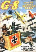 G-8 and His Battle Aces (1933-1944 Popular Publications) Pulp Vol. 10 #4