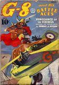 G-8 and His Battle Aces (1933-1944 Popular Publications) Pulp Vol. 12 #3