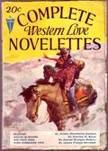Complete Western Love Novelettes (1931-1933 Clayton Magazines) Pulp Vol. 2 #1