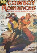 Cowboy Romances (1937-1938 Columbia Publications) Pulp Vol. 1 #2