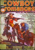 Cowboy Romances (1937-1938 Columbia Publications) Pulp Vol. 1 #4