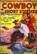 Cowboy Short Stories (1938-1940 Columbia Publications) Pulp Vol. 2 #1