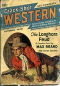 Crack-Shot Western (1939-1941 Frank A. Munsey Company) Pulp Vol. 1 #3