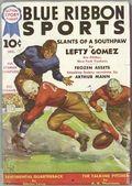 Blue Ribbon Sports (1937-1940 Columbia Publications) Pulp Vol. 1 #1